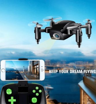 Mini droned camara